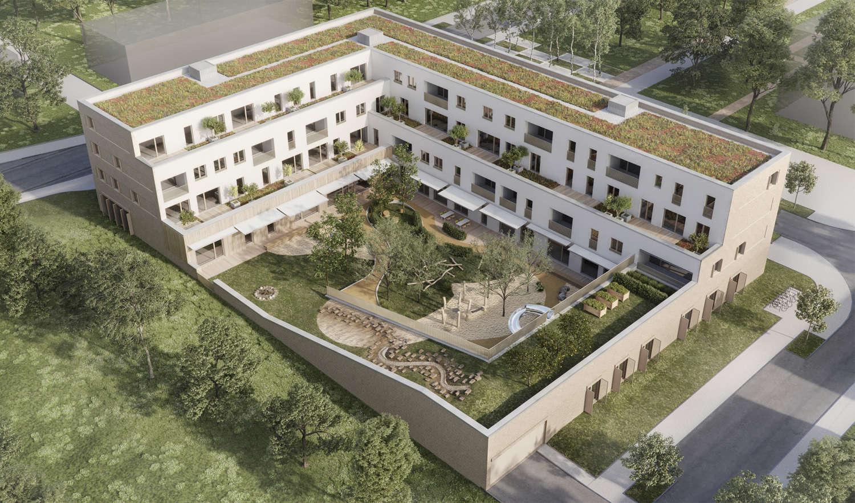 Wohnbau Und Kindertagesstaette Am Hainweg 05