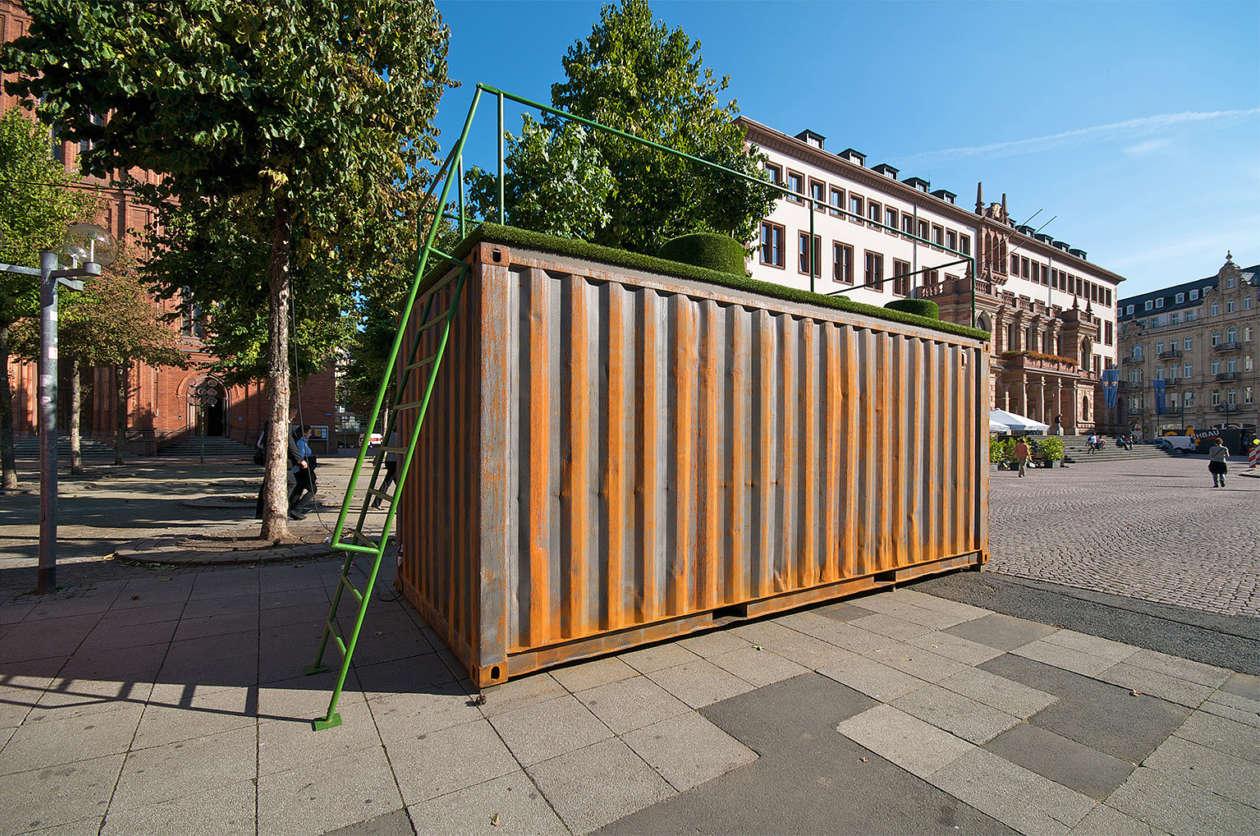 Ausstellungscontainer Wiesbaden 10