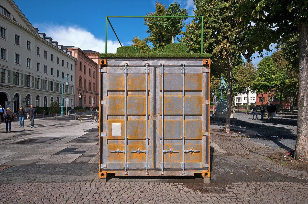 Ausstellungscontainer Wiesbaden 02