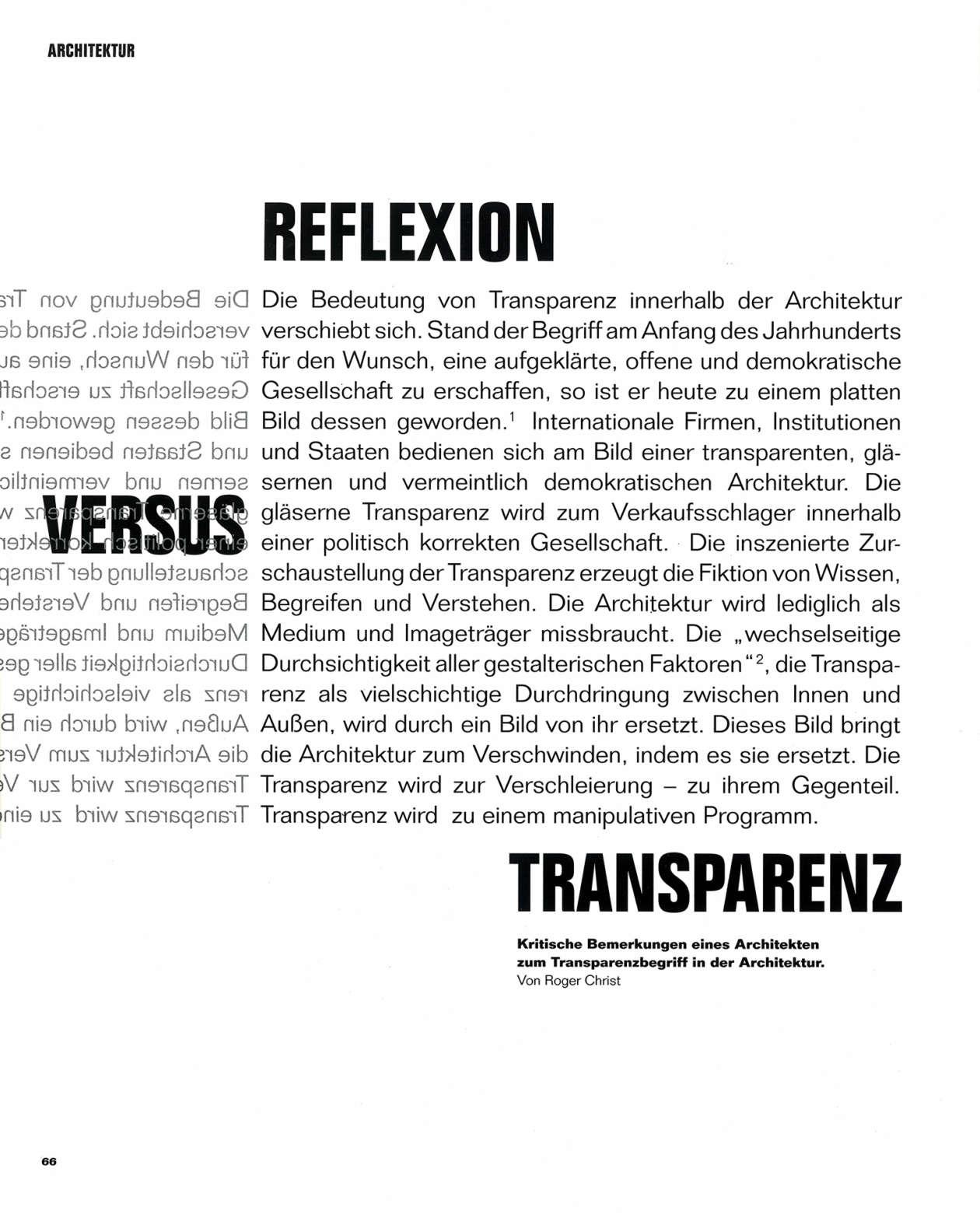 Mies Haus Magazin 2009 02