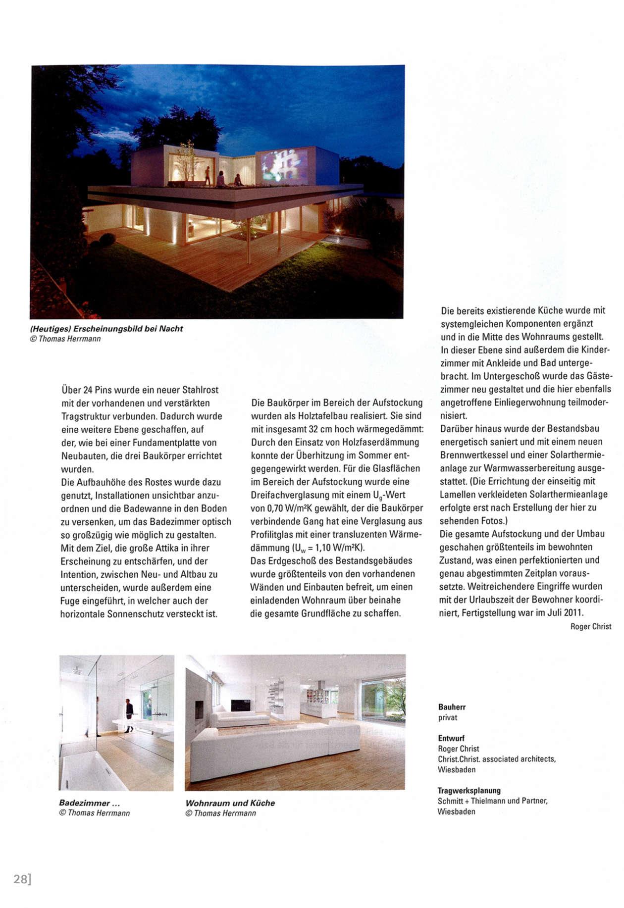 Umrisse Zeitschrift Fuer Baukultur 05