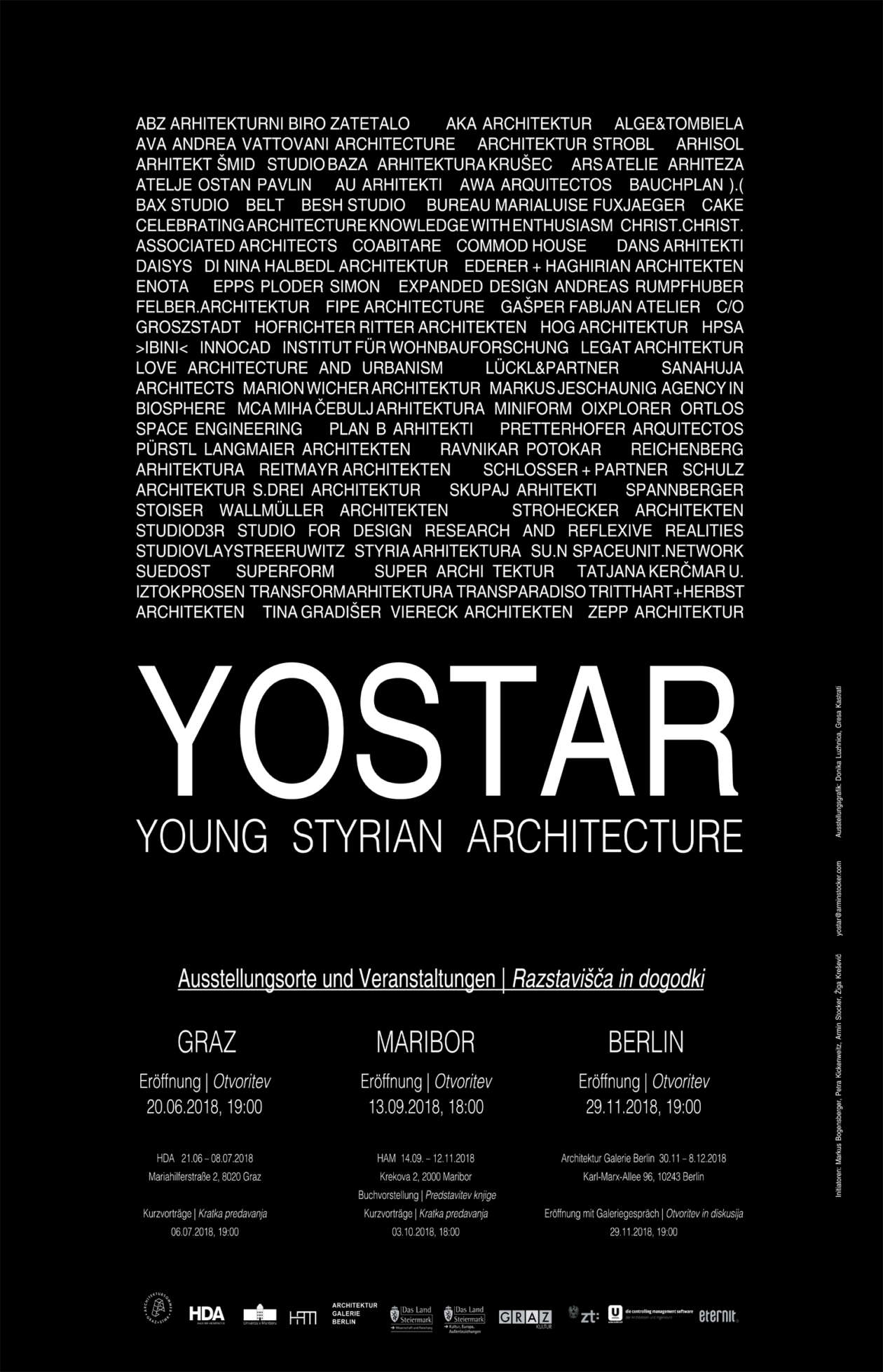Yostar Young Styrian Architecture Plakat 01