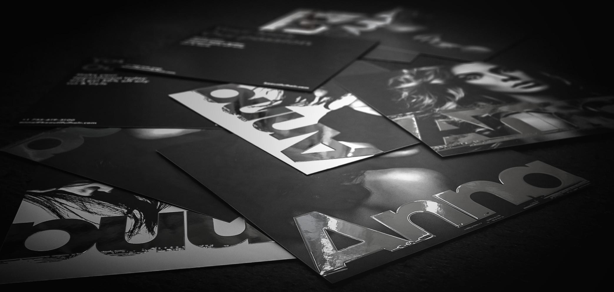 Leaflets Mit Silberfolie