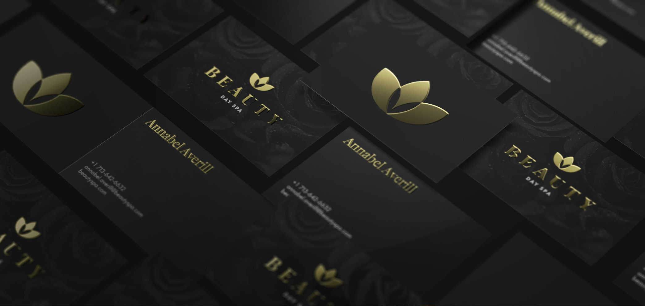 Visitenkarten Mit Goldfolie