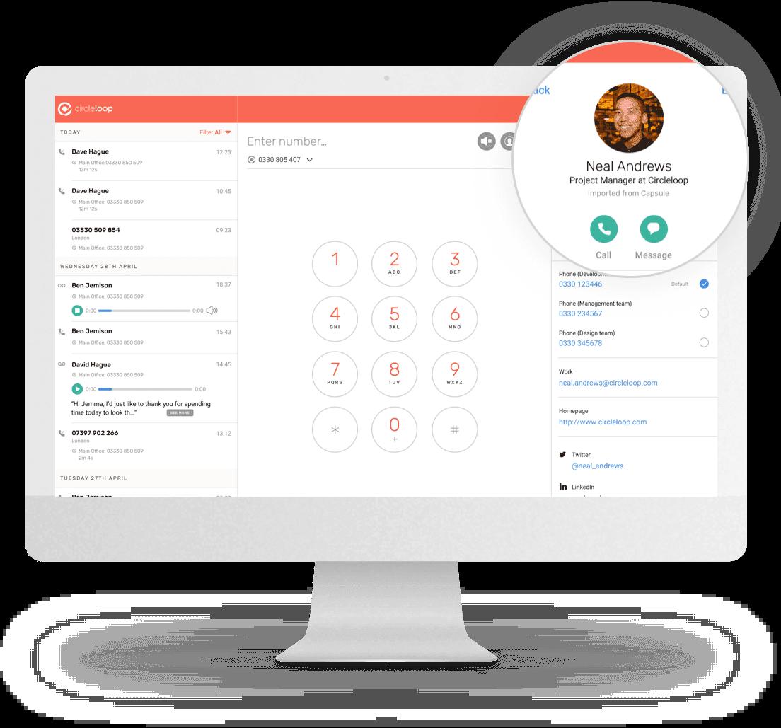 CircleLoop desktop app features