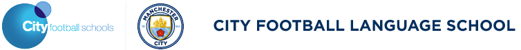 City Football Language School Logo