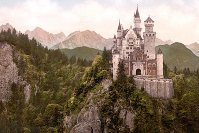 Schloss Neuschwanstein history