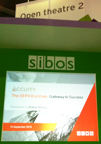 Robert McKay, Accuity at Sibos Open Theatre