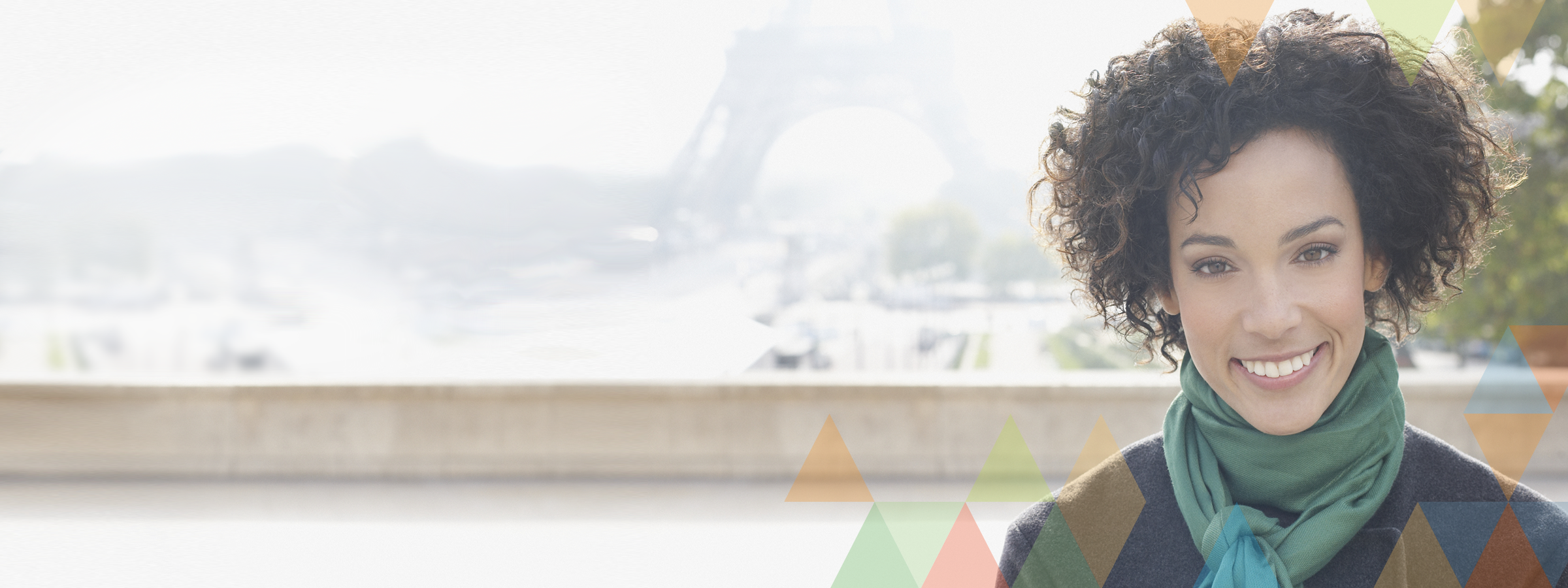 Accuity - Fircosoft - Lady by riverside in Paris, France