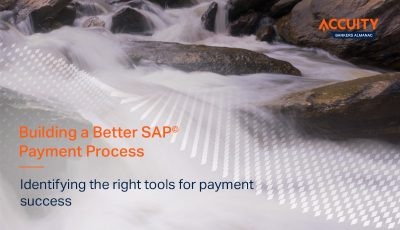 Building a Better SAP Payment Process