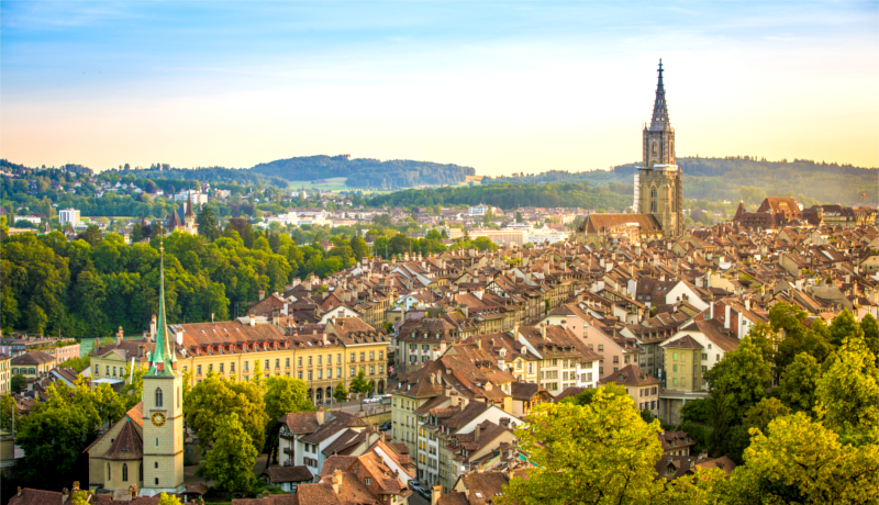 Bern City, Switzerland
