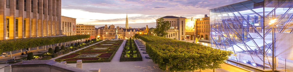 Mont des Arts, Congress Center Square, Belgium, Brussels
