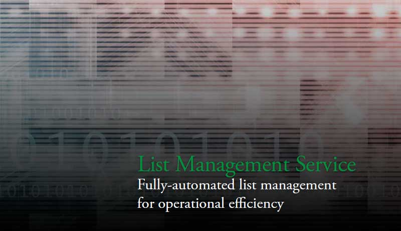 List Management Service