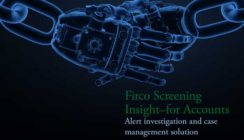Firco Screening Insight–for Accounts
