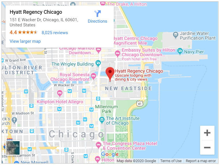 Hyatt-Regency-Chicago-Map