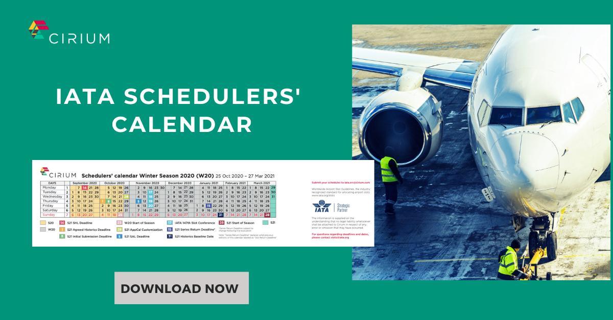 IATA Slots Schedules calendar