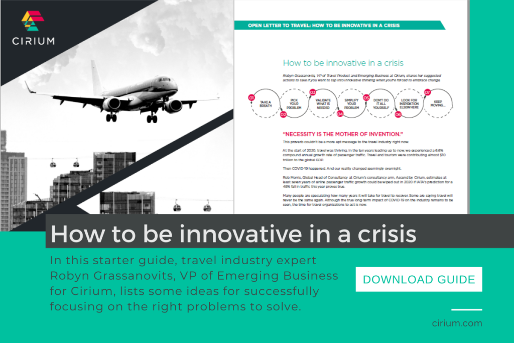 How to be innovative in a crisis