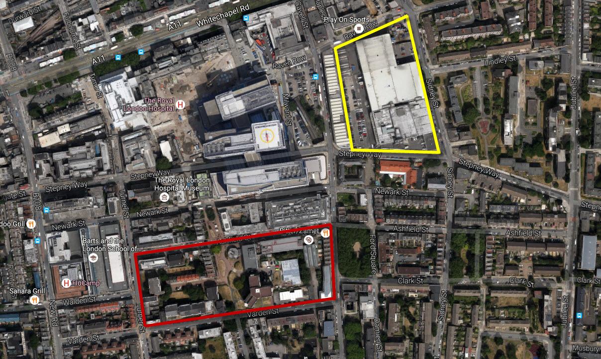 whitechapel schemes