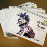 Hair by JFK Shoots Canine Calendar for Charity