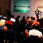 Ken Picton Presents Masterclass in Mexico for L'Oreal Professionnel