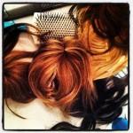 Kristian Aadnevik Spring/Summer 2014 - hair by Errol Douglas for Moroccanoil