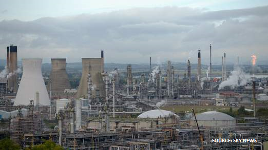 Grangemouth shut