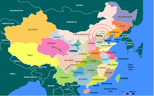 Chinas Credit Cuts Will Send Seismic Tremors Around The World - China world map