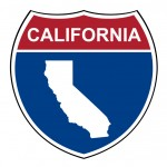 California interstate highway shield