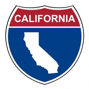 California interstate highway shield