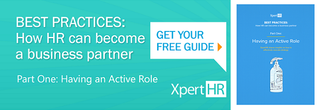 Best Practices: How HR Can Become a Business Partner - Part 1: Having an Active Role