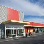 Modern supermarket
