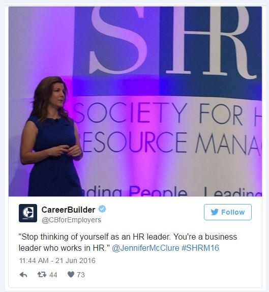 mcclure business leader tweet