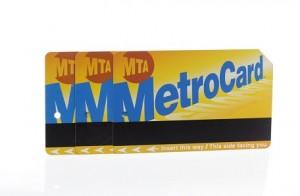 NYC MTA MetroCard subway and bus fare cards