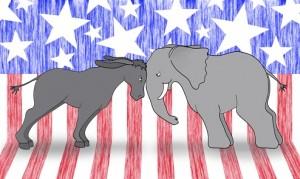Political Debate Mascots
