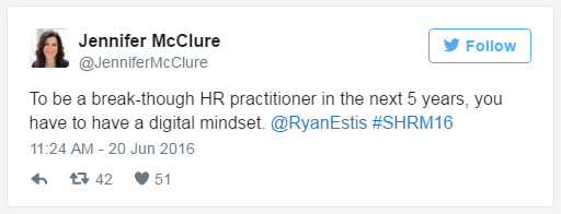 mcclure digitial mindset tweet