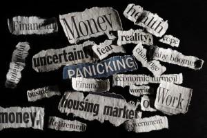 Bad economic news headlines