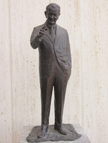 Statue of President Lyndon B. Johnson