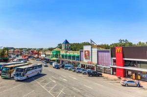 CHONBURI - THAILAND- MARCH 22, 2017 : Restaurants at Motorway Rest Area where located middle way to PATTAYA city. It is the good place for tourist when want to find some drink.
