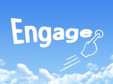 engage message cloud shape