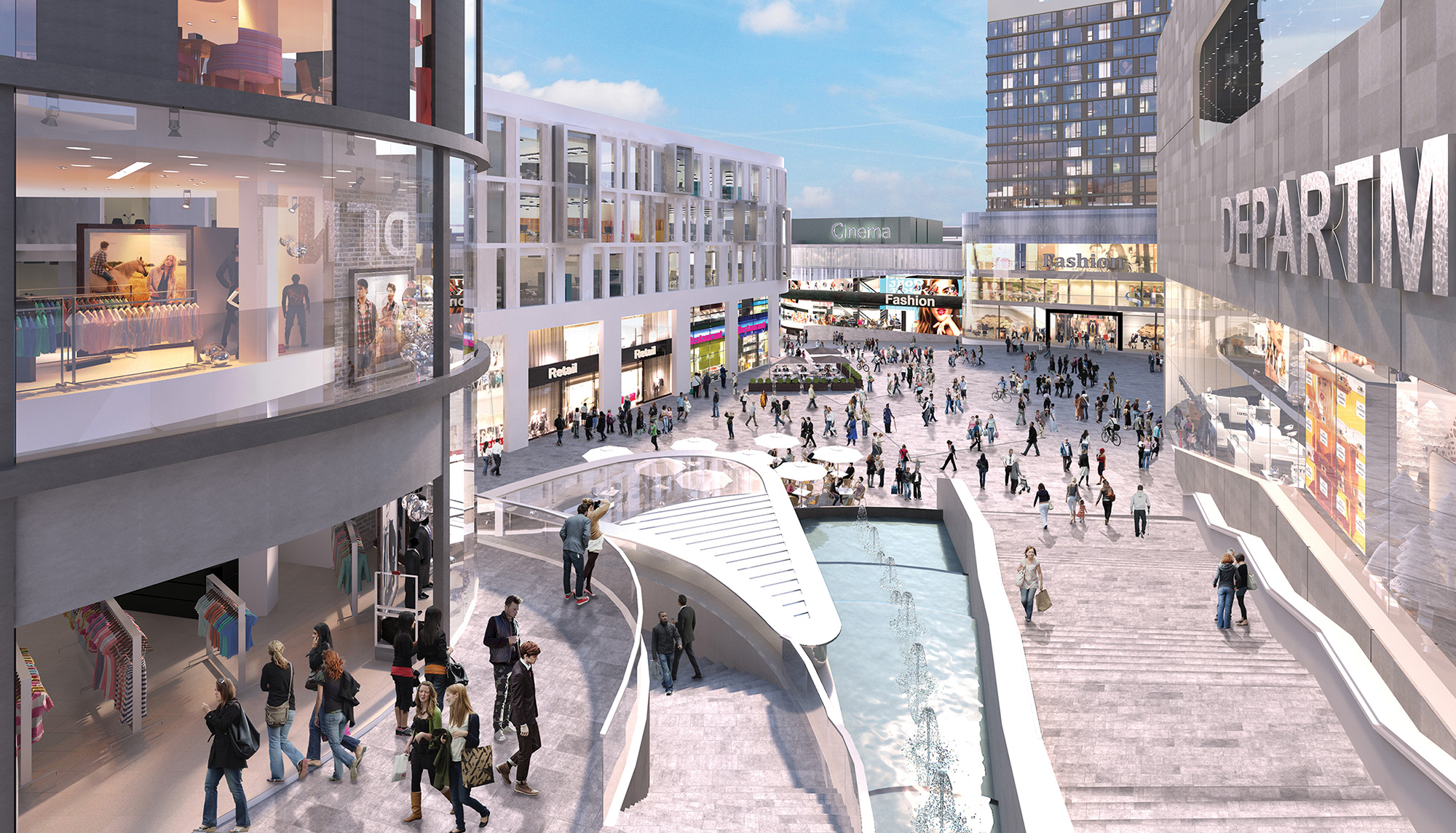 Retail led schemes battle it out in sheffield for The sheffield