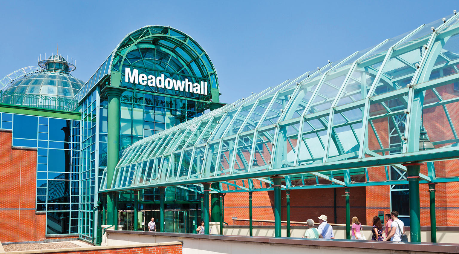 CR01J2 meadowhall shopping centre mall sheffield south yorkshire england uk gb eu europe