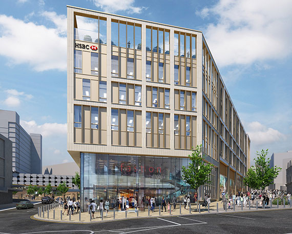 HSBC Sheffield HQ unveiled