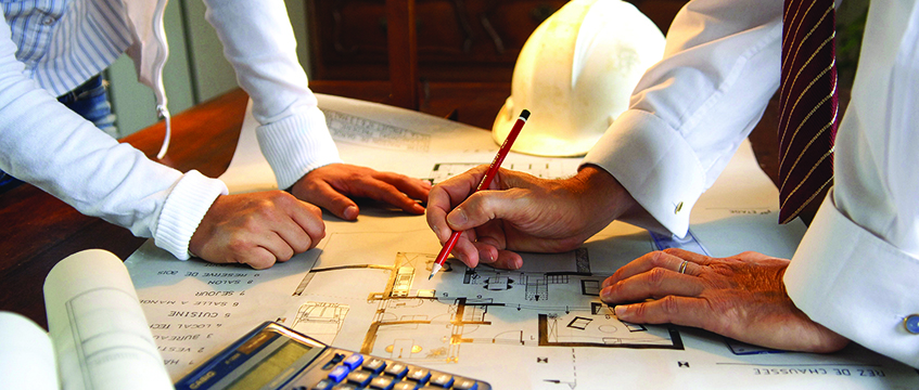 Construction-blueprint-planning-architect