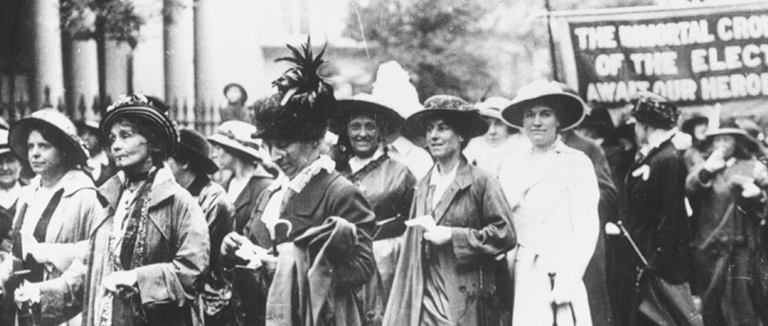 Emmeline Pankhurst, suffragettes © Rex Shutterstock