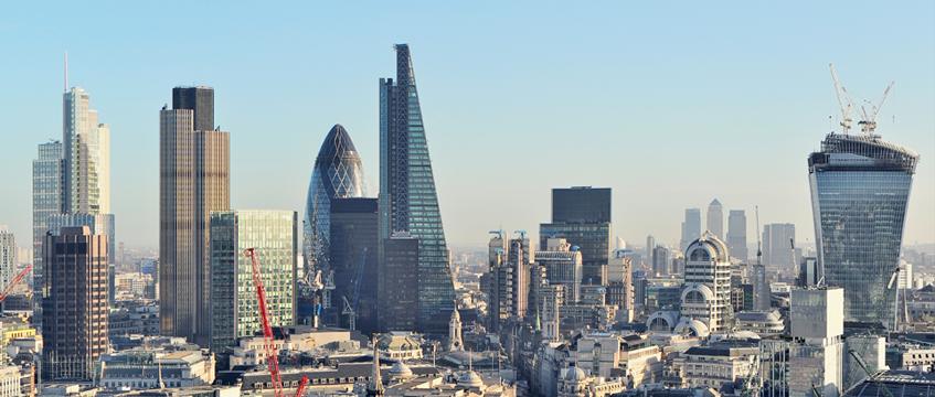 London offices skyline