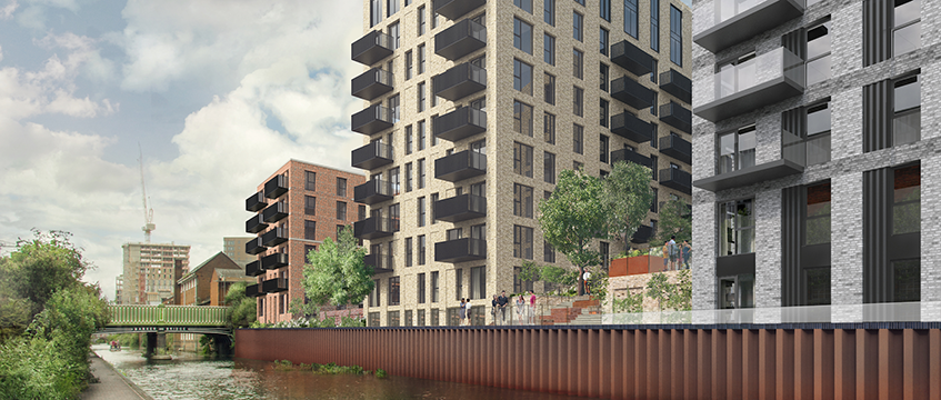 St Joseph Homes' Snow Hill Wharf project, Birmingham