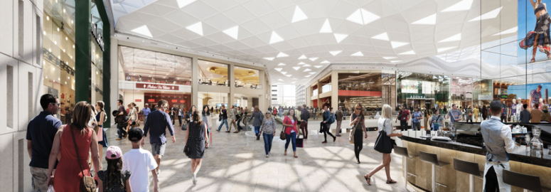 Westfield London Expansion-Internal-Mall