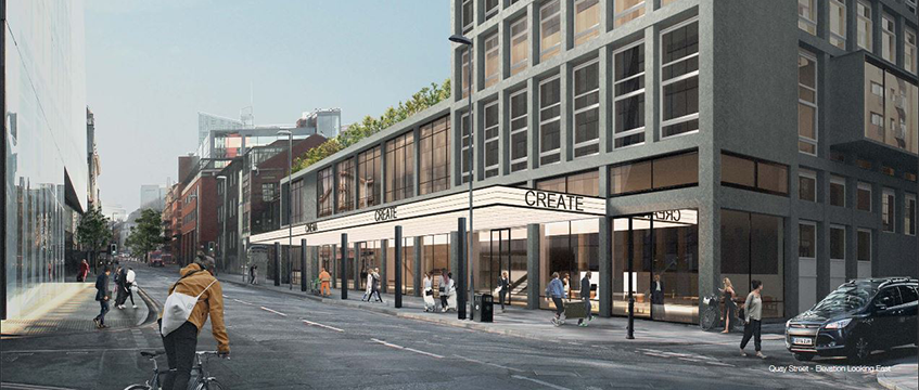 ABC Building refurbishment plan, Manchester