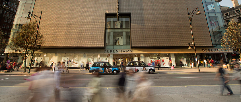 Debenhams,-Oxford-Street-store