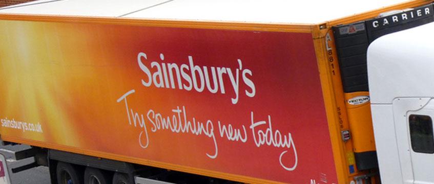 Sainsbury's-truck